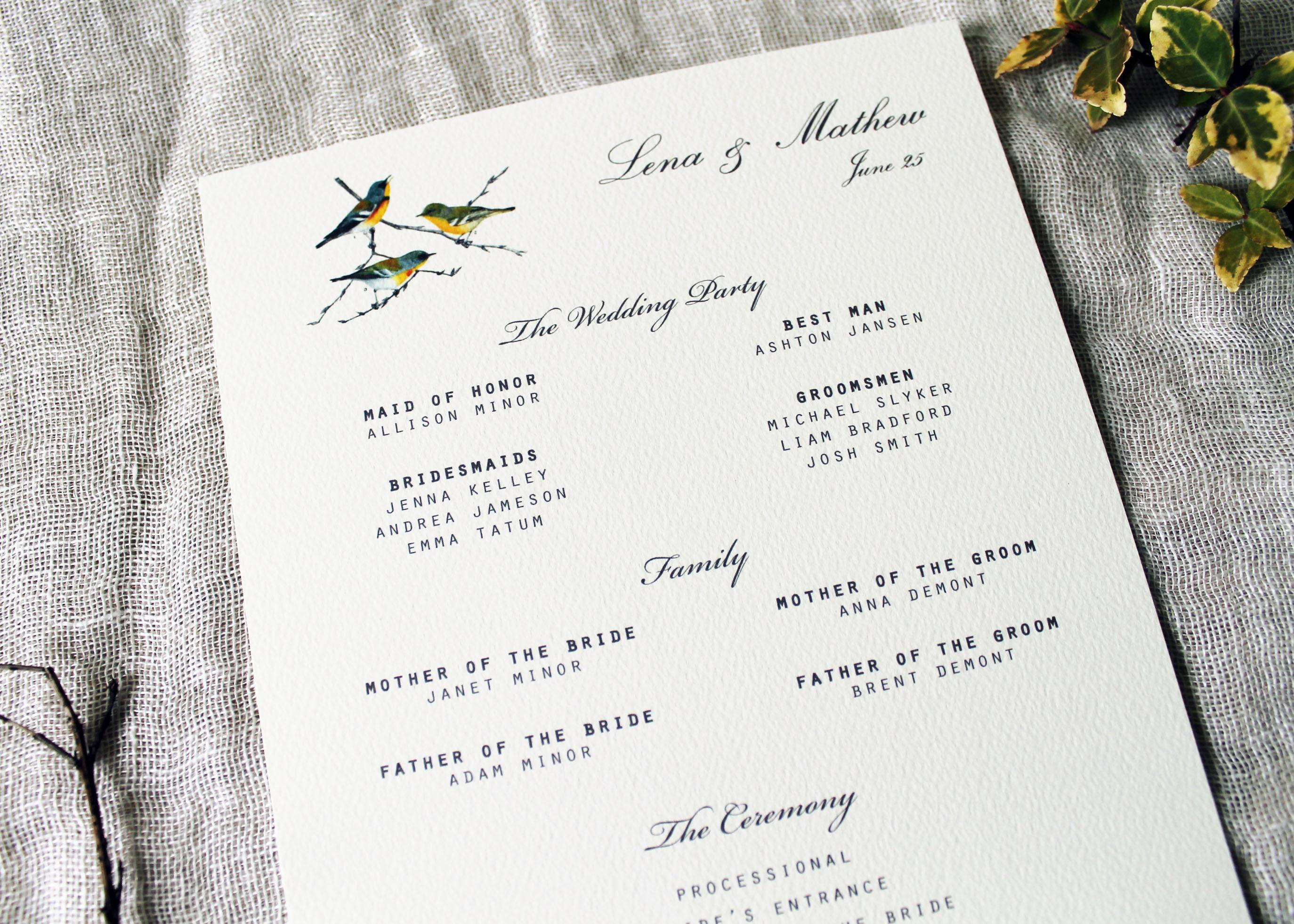 50: Bird Themed Wedding Invitations At Reisefeber.org