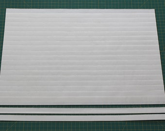 """Size 1/2""""(12""""W x 50""""L) Mr. Pleater Board, pleats fabric, fast and easy."""