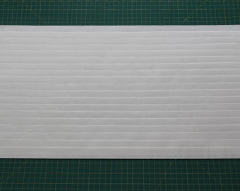 """Size 3/4""""(12""""W x 50""""L) Mr. Pleater Board, pleats fabric, fast and easy."""