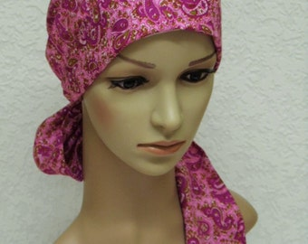 Chemo Head Wear Elegant Tichel Short Hair Scarf Cotton Head Etsy