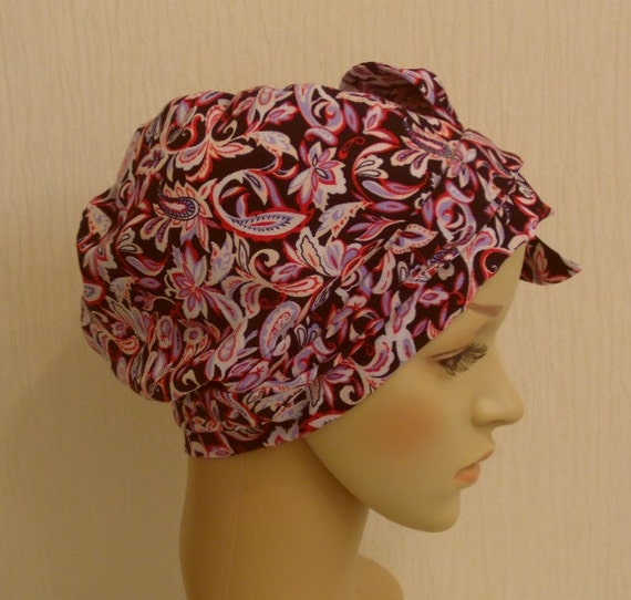 Chemo Kopf abdeckt Chemo Mütze chirurgische Hut kurze | Etsy