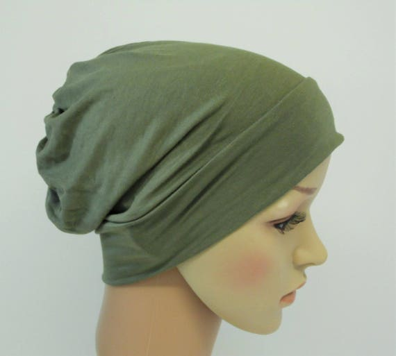 Chemo beanie for women bad hair day hat full head covering  7978706484c
