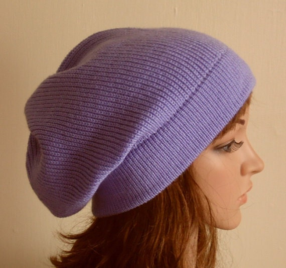 4d8df9939aa Knit beanie knitted slouchy hat handmade slouchy beanie