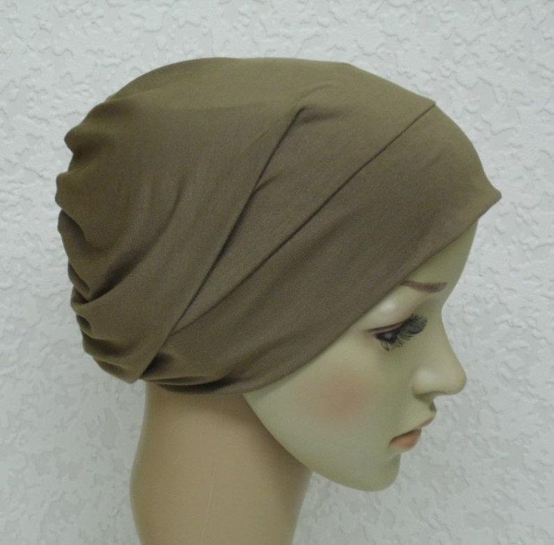 Women s chemo hat beanie for short hair chemotherapy  424bfa559b92
