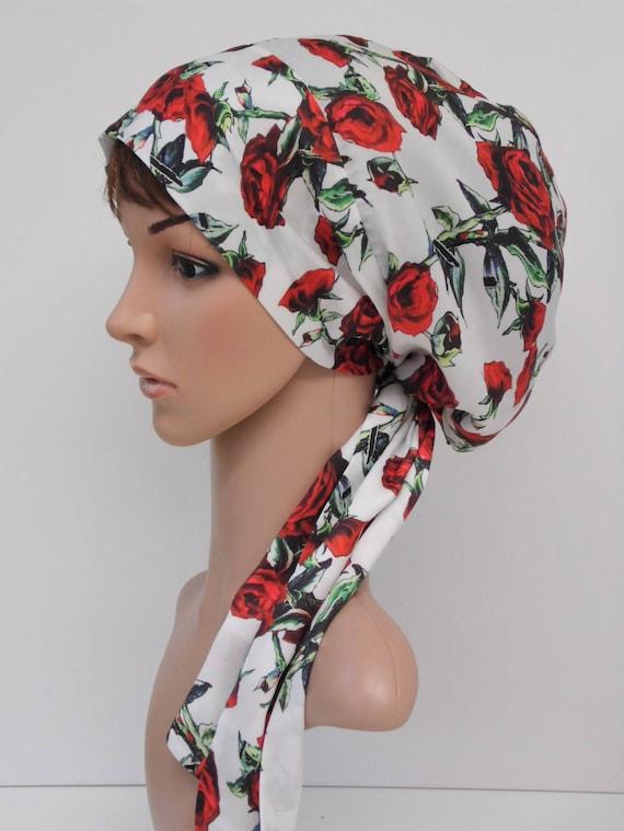 satin tichel snood t te soyeux foulard sur la t te bonnet etsy. Black Bedroom Furniture Sets. Home Design Ideas