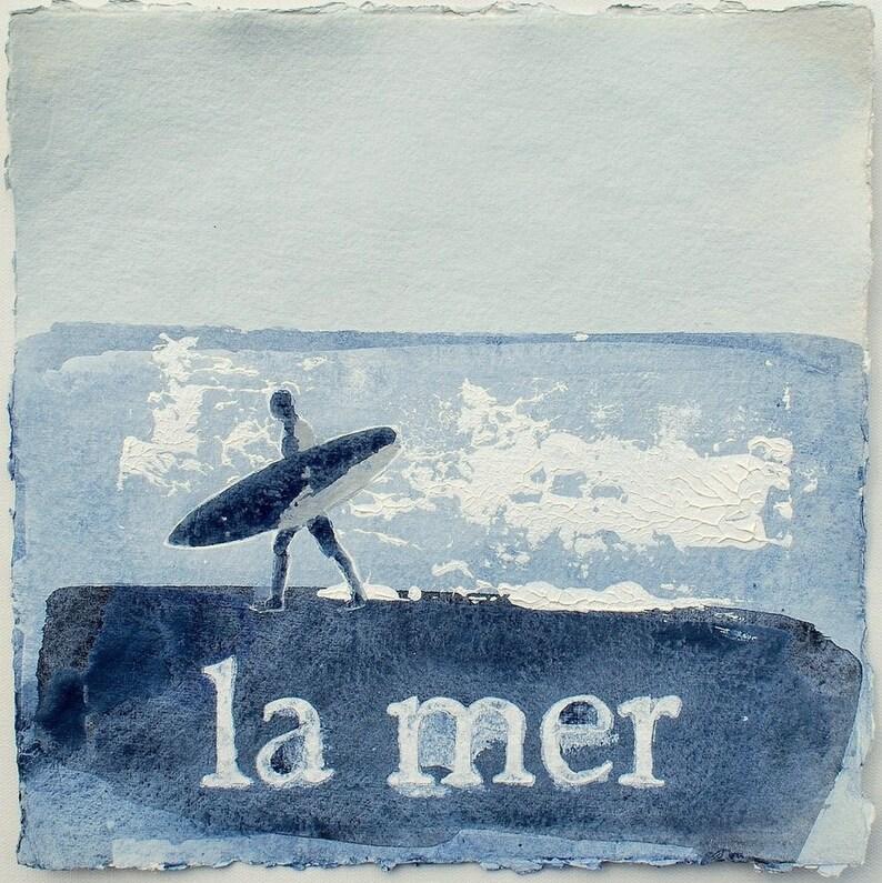 ORIGINAL PAINTING BRETAGNE  La Mer Bretagne by image 0