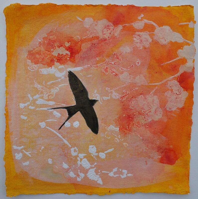 Original Watercolour Painting 12x12 Art Original Painting image 0