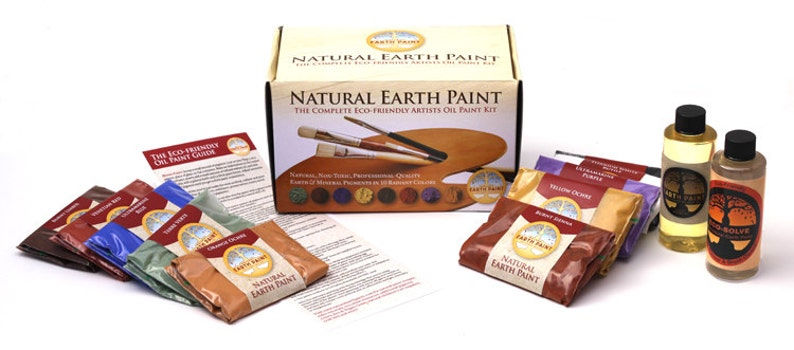 The Complete Eco-friendly Artists Oil Paint Kit image 0