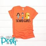 VIPKID T-Shirt - Squad Goals Meg Mike Dino - Dinosaur tee - Teacher Shirt - FREE Shipping Vip Kid - ESL Company