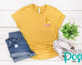 acd3d528 VIPKID T-Shirt - Pocket Logo - Dino - Dinosaur tee - Teacher Shirt - FREE  Shipping - ESL Company
