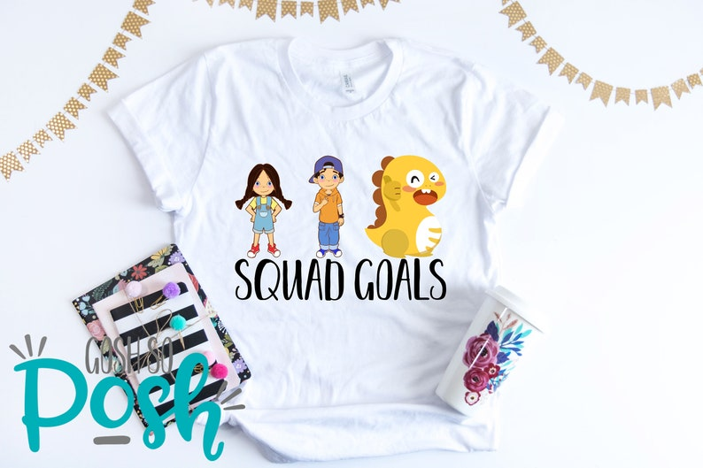 picture about Vipkid Mike and Meg Printable called VIPKID T-Blouse - Squad Plans Meg Mike Dino - Dinosaur tee - Trainer Blouse - Cost-free Transport Vip Youngster - ESL Enterprise