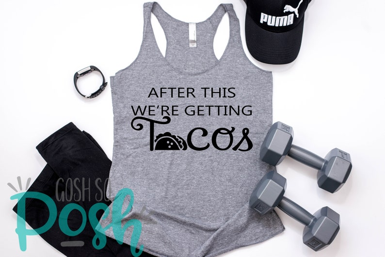 After This We're Getting Tacos Tank Top  Women's image 0