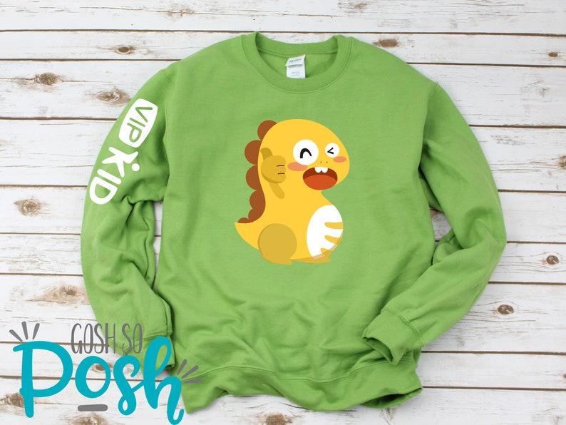 VIP KID Teacher Sweatshirt  Dino  ESL Teacher  Shirts For Kiwi