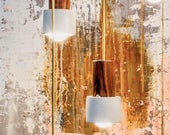 Flashlight Concrete Pendant light