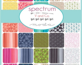 Spectrum Charm Pack by V and Co for Moda