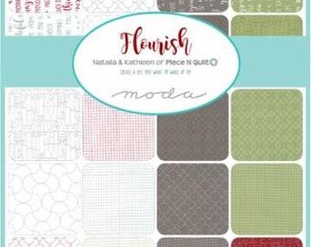Flourish Charm Pack by Natalia & Kathleen for Moda Fabrics