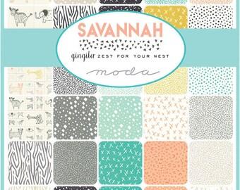 Savannah Charm Pack by Gingiber for Moda