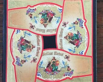 2018 Cigar Band Collage Coaster: Bellas Artes