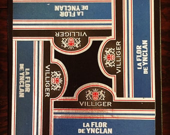 2018 Cigar Band Collage Coaster: Villiger Regal Flair