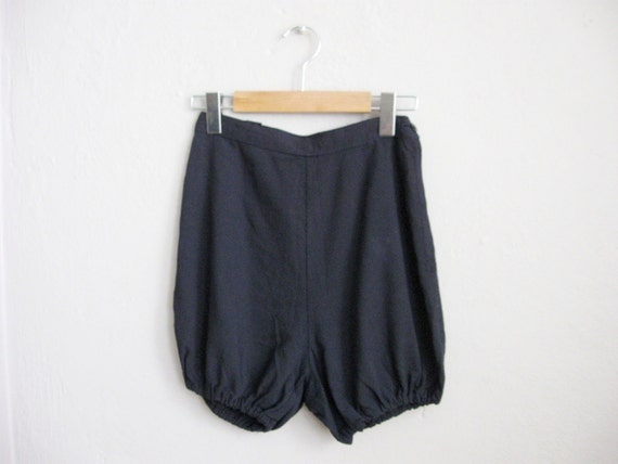 1950s Vintage Shorts High Waist Shorts 50s Tap Pan