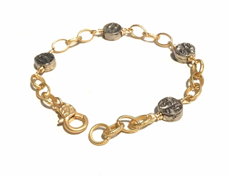 Everyday gold bracelet Everyday bracelet for women Gold image 0