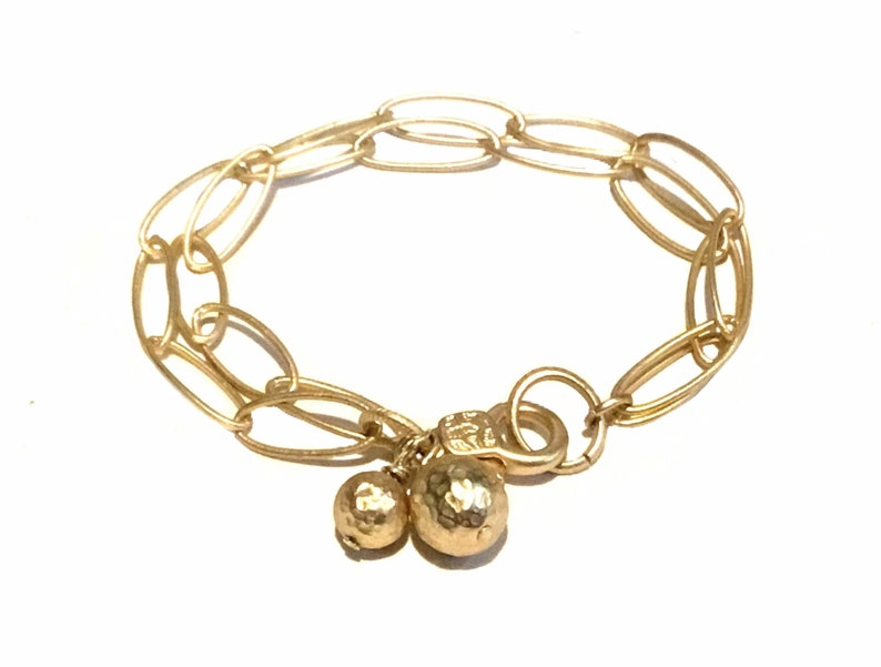 Simple gold bracelet  Simple dainty bracelet  Dainty gold image 0