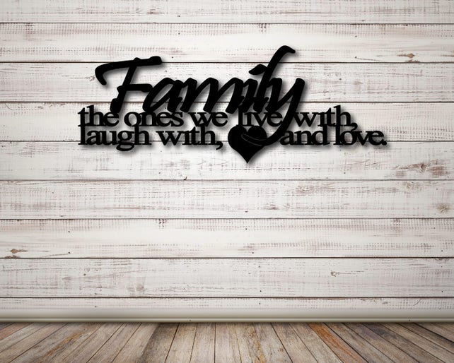 Family Wall Art Live Laugh Love Sign Family Sign Family | Etsy