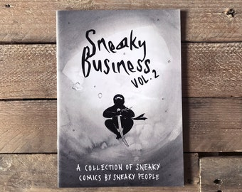 ON SALE - Sneaky Business vol. 2 Self-Published Comics Anthology Zine