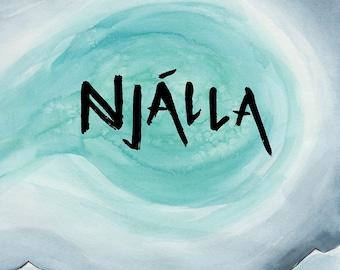 Njálla Digital Comic