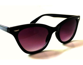 a647e682682 Black Cat Eye Sunglasses