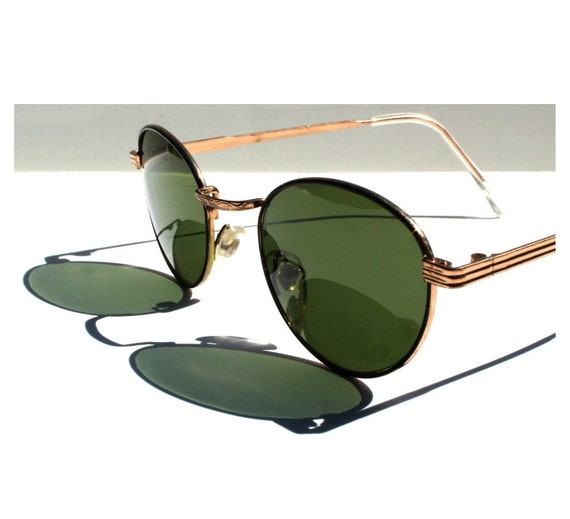 0d22685964 Vintage Round P3 Sunglasses   Gatsby Glasses   John Lennon ...
