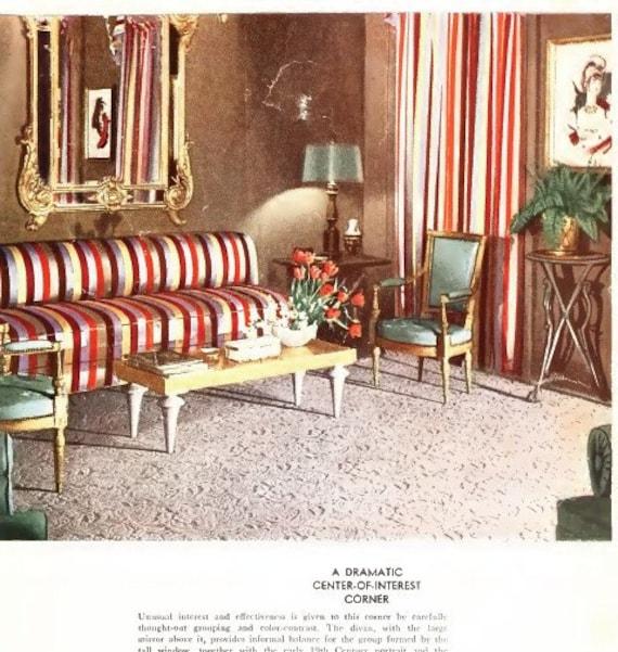 95 Vintage Home Interior Design Decorating Books 1800s 1900s Etsy