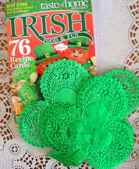 12 St Patricks Day Charms Set Irish Embellishments Crafts Scrapbooking Pattys