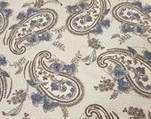 Blue Paisley Fabric Fat Quarter Windsor Lane Moda Pattern 2842