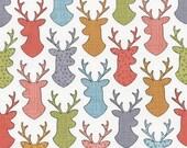 Deer Head Fabric Fat Quarter Timeless Treasures Patt# FUN-C4446