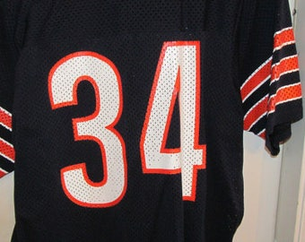 41dcb1e3ed4 Vintage Sand Knit MacGregor Chicago Bears Jersey Retired #34 Walter Payton