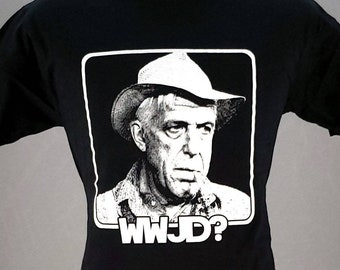 What Would Jud Do? Pet Sematary Fred Gwynne t-shirt, Serial Killer Shirt, Horror tshirt, Goth tee, screen printed T shirt