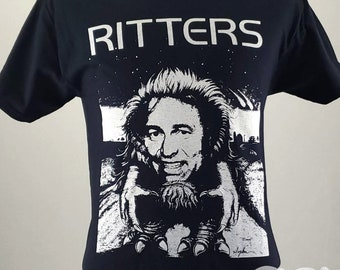 Ritters - Critters and John Ritter Horror Parody T-shirt