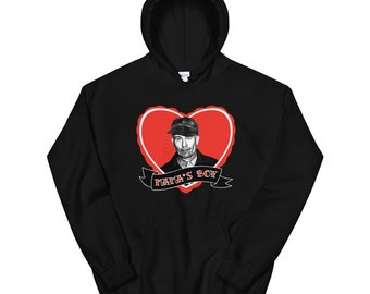 "Ed Gein ""Mama's Boy"" Unisex Hoodie Sweater, Serial Killer Shirt, Horror Sweatshirt, Goth Pullover Sweater"