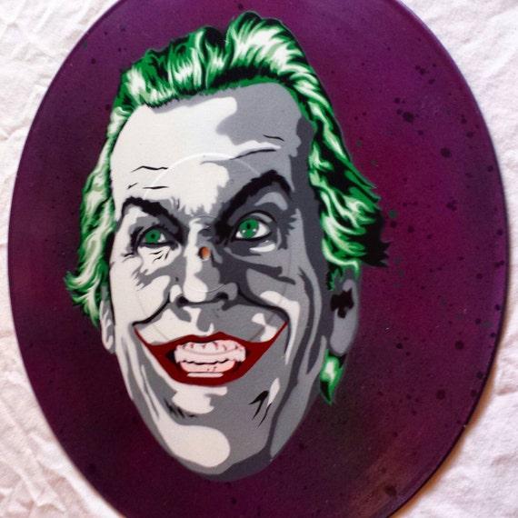 Sprühfarbe Schablone Vinyl Aufzeichnen Und Kunst Joker Nicholson Jack uFKl1JcT53
