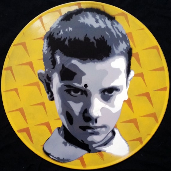 Eleven Stranger Things Eggo Spray Paint And Stencil Vinyl