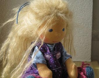 Pixy - waldorf doll - 9 inch