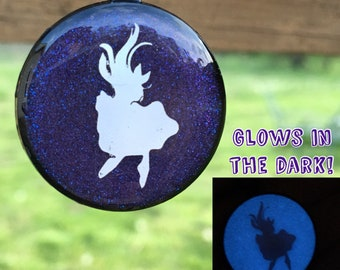 Glowing Fairy Tale Necklace, Glow in the Dark, Holographic Necklace, Pendant Necklace, Gift for Her, Fantasy Jewelry, Fairy Tale Jewelry