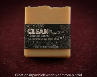 Leche de Cabra ~ All Natural Goat's Milk Soap