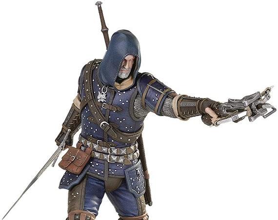 New Witcher 3 Wild Hunt  Geralt of Rivia Grand Master Feline Statue