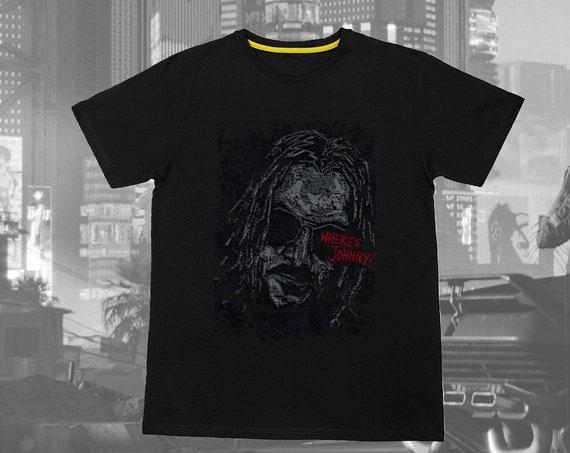 Cyberpunk 2077 Where's Johnny T-shirt