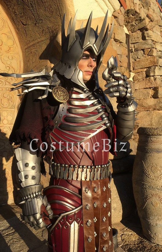 Theatrical Quality Witcher 3 Eredin Breacc Glas Costume Etsy