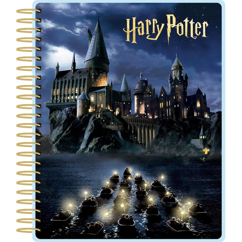 HARRY POTTER PLANNER  HOGWARTs at NiGHT Big and Thick  12 image 0