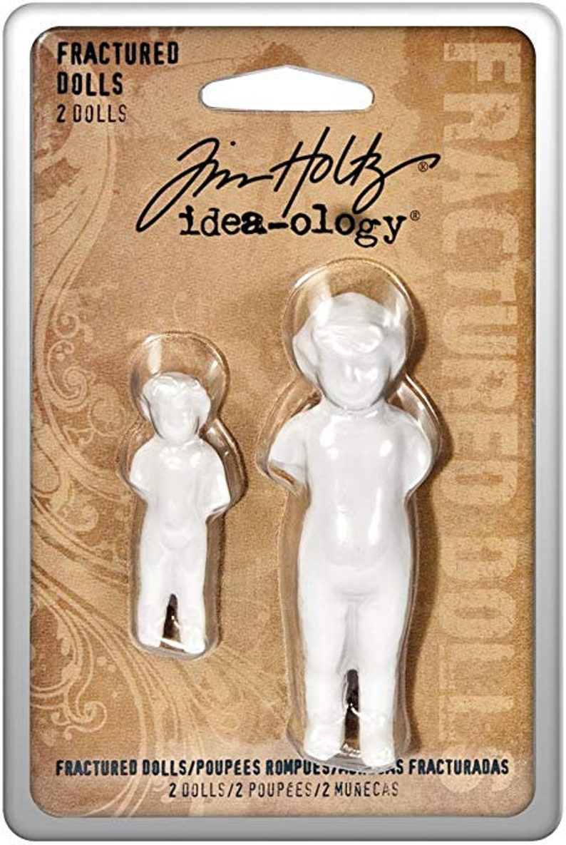 FRACTURED DOLLs ORIGINAL  by TIM HOLtZ   Pack of 2  TH92906 image 0
