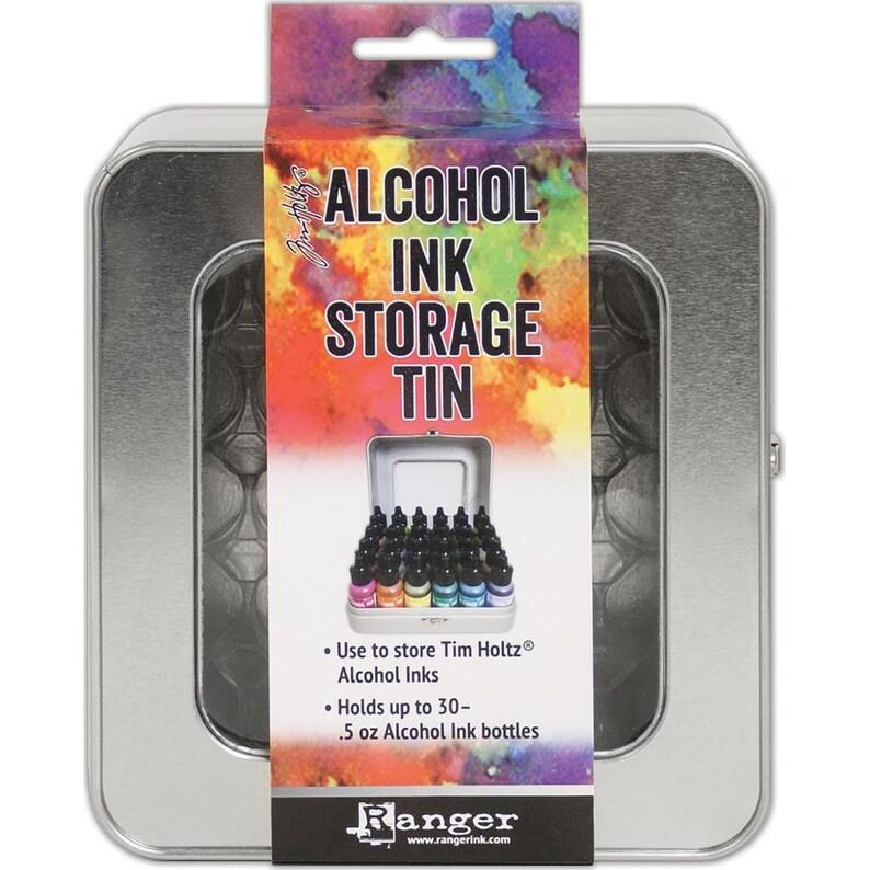 TIM HOLTZ ALCOHOL INKs  STORaGE TiN    New  Holds 30 image 0